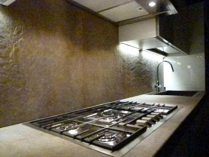 Top cucina in grès porcellanato morosin ceramiche